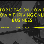 tips to grow online business
