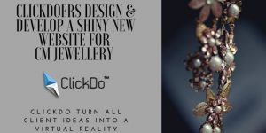 ClickDoers Design & Develop A Shiny New Jewellery Website For CM Jewellery