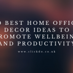 20 Best Home Office Decor Ideas To Promote Wellbeing And Productivity