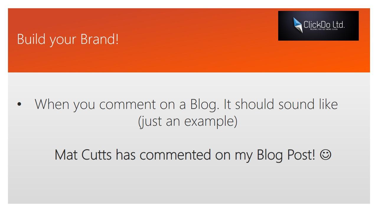 Blog Commenting for SEO in 2016 - Slide (9)