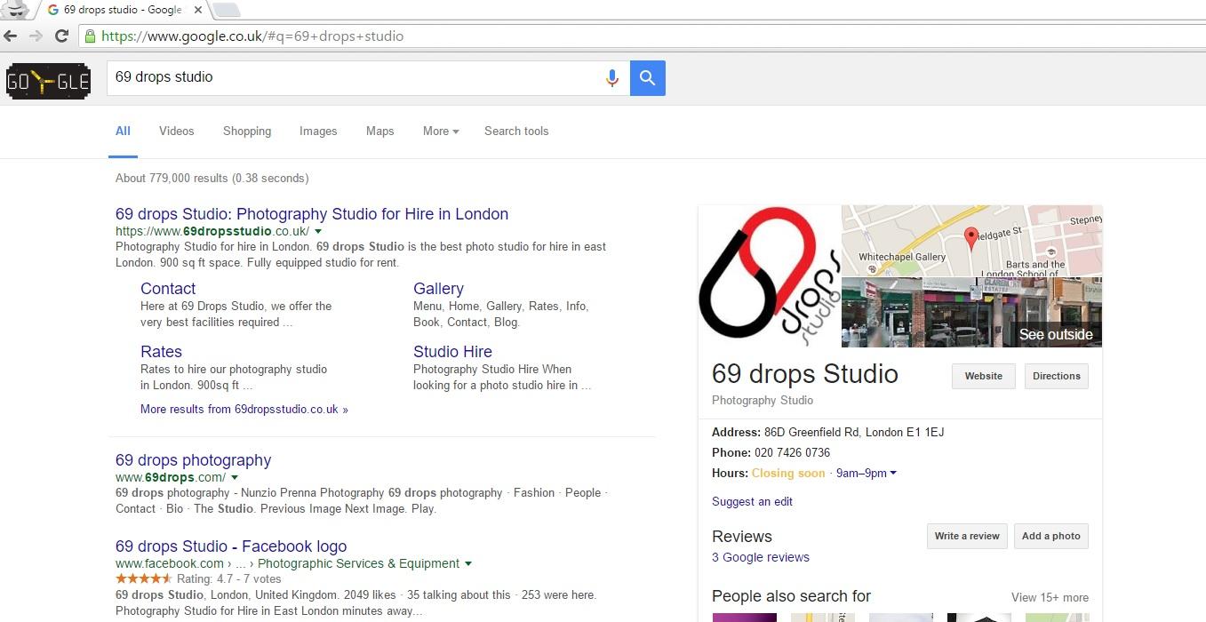 69-drops-Studio-on-Google