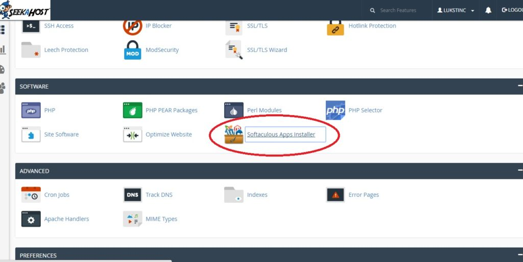 Installing-WP-by-cpanel