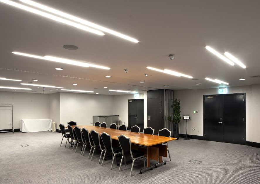 conference room at Hilton hotel, ClickDo photography shot by Michael Dorazil