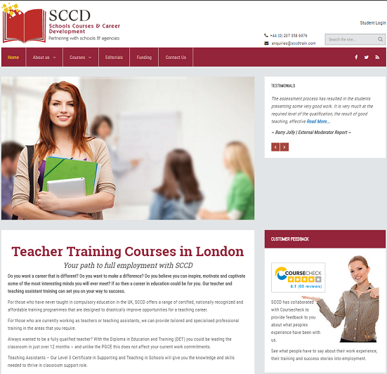 sccd teacher training london