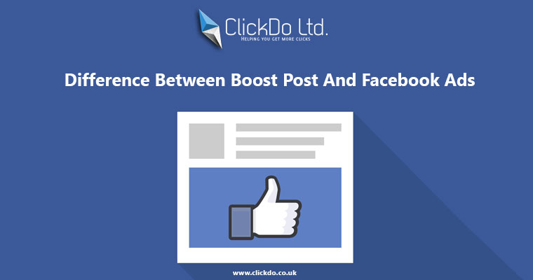 Facebook ads and boost post