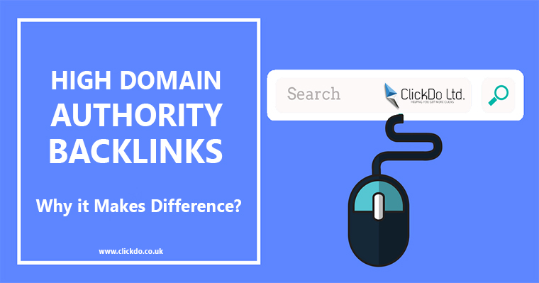 High Domain Authority Backlinks