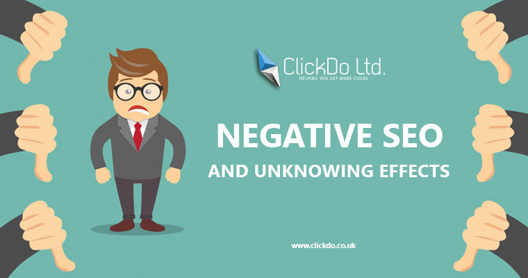 Negative SEO and Unknowing Effects