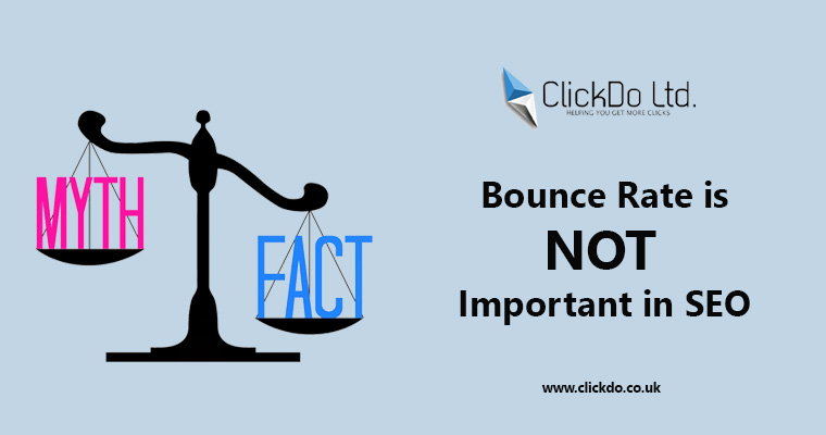 Bounce Rate in SEO is Not Important