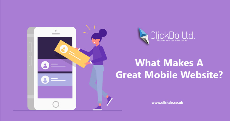 What Makes a Great Mobile Website