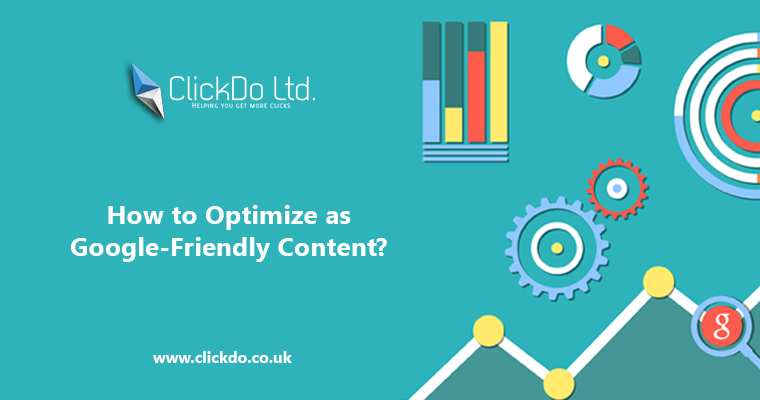 Optimize as Google Friendly Content