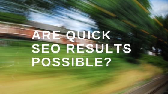 QUICK SEO RESULTS