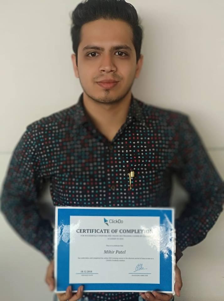 Mihir-Patel-Certified