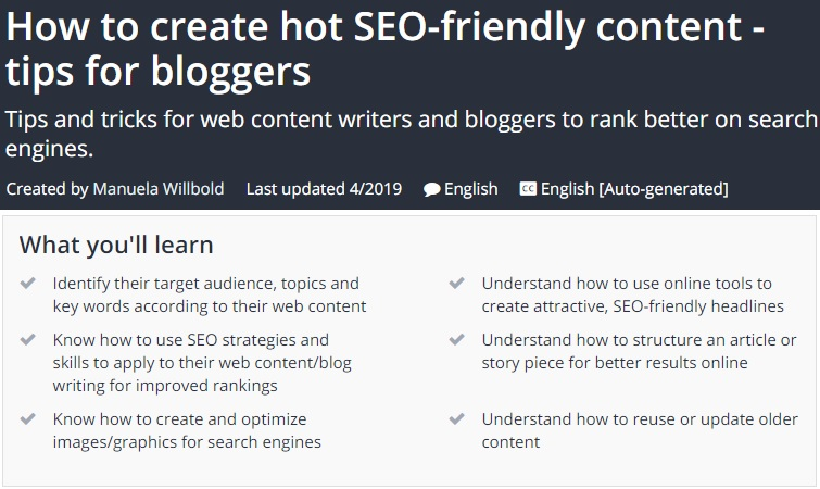 SEO Content Writing: How to write SEO friendly content that