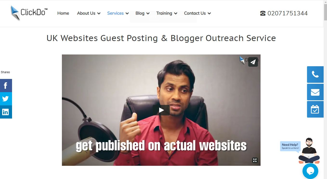 ClickDo Guest Posting Service