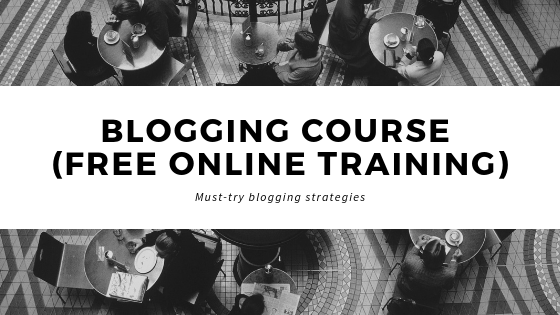 Blogging-Course