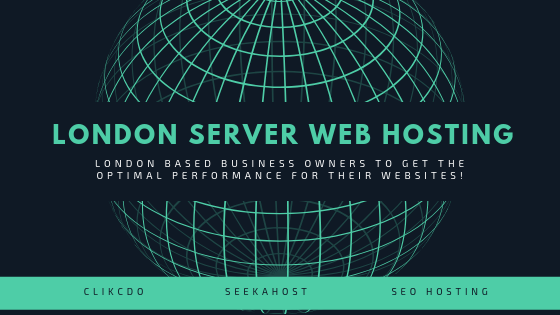 London Server Web Hosting for London based business owners to get the optimal performance for their websites!