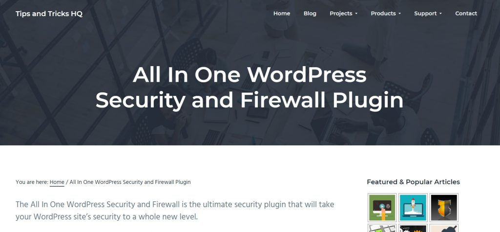 all in one wp security plugin