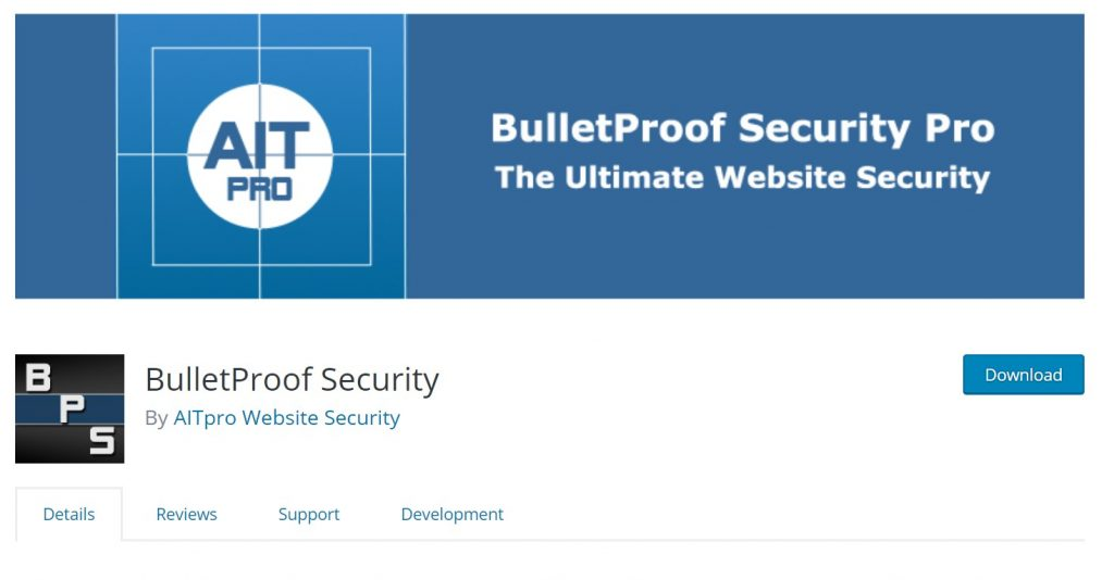 bullet proof wordpress security plugin
