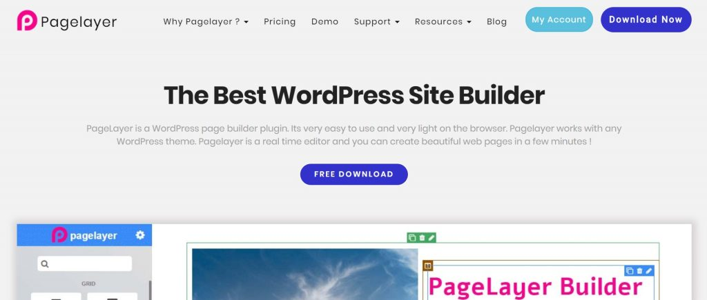 plugin wordpress pagelayer