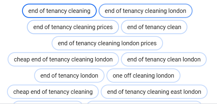 google ads for cleaning company