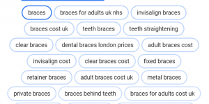 google ads ppc for dentist in london