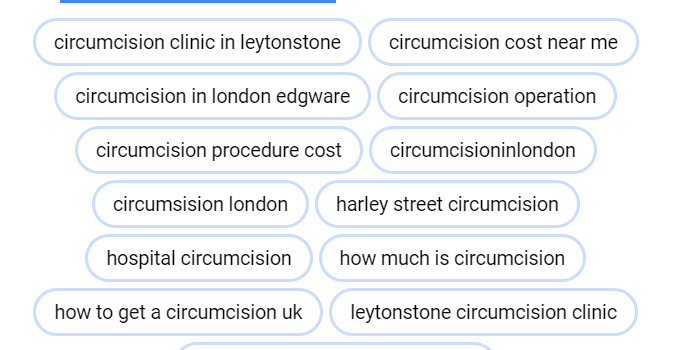 google adwords for circumcision clinic