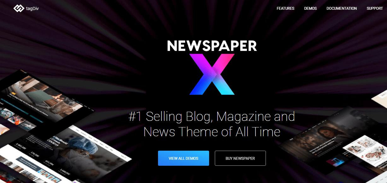 Free Newspaper Theme