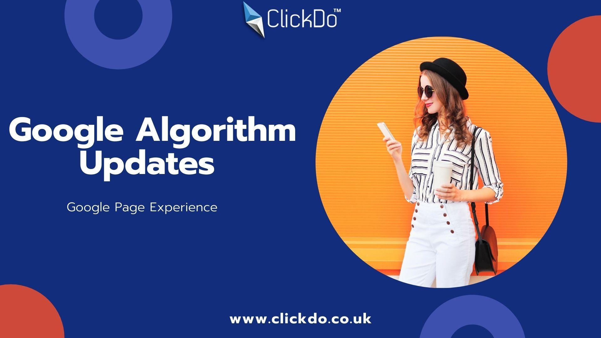 "2021 Google Algorithm Updates_ ""Google Page Experience"""