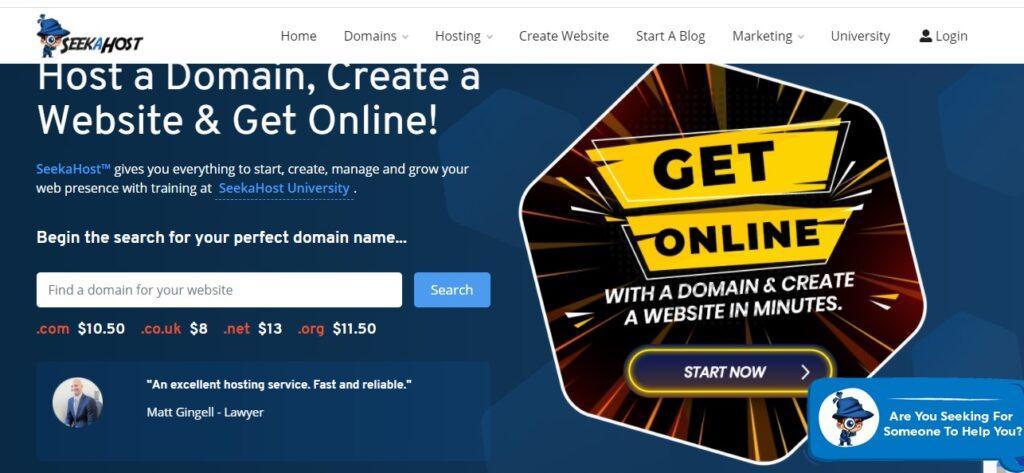 Best domain hosting service