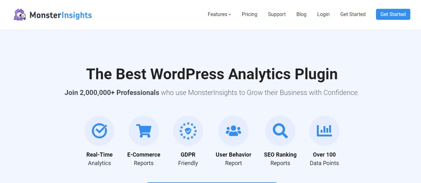 MonsterInsights SEO Plugin