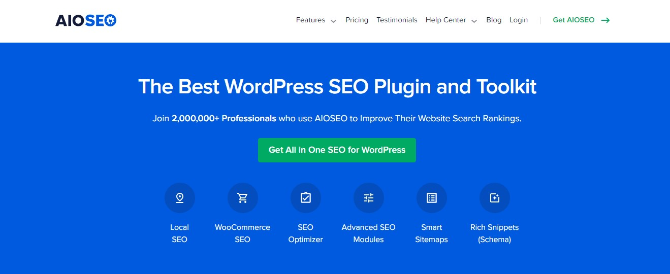SEO plugins for 2021 -AIOSEO