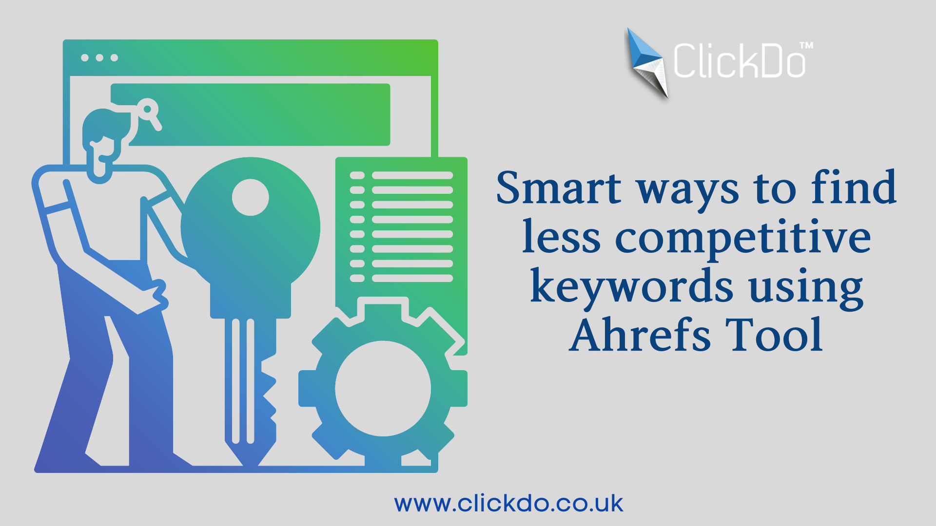 Smart ways to find less competitive keywords using Ahrefs Tool