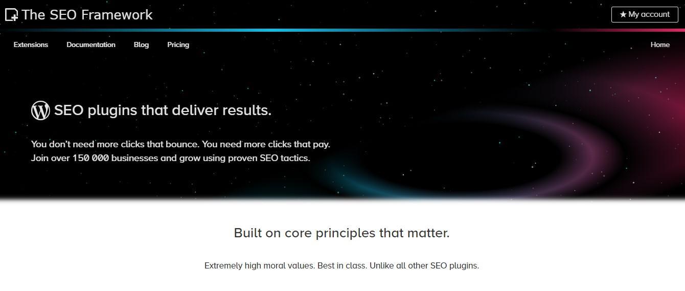 The SEO FrameworkSEO plugin