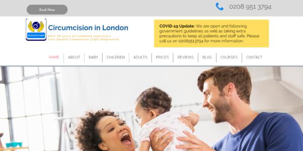 circumcision in london google ads
