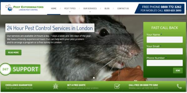 pest control in london seo