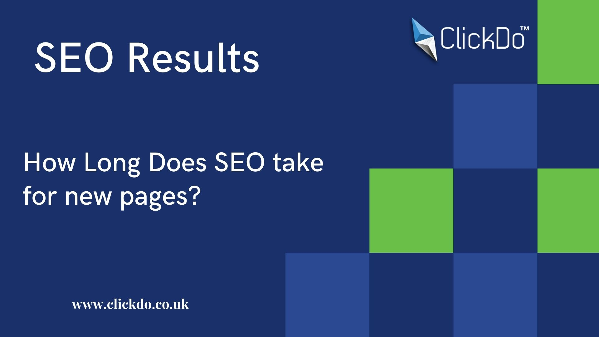 How Long Does SEO take for new pages