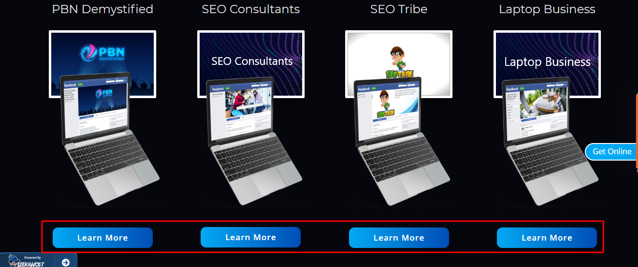 Include Clickable CTA buttons on website