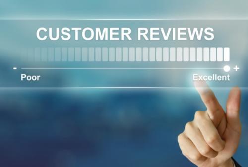 Fewer Customer reviews