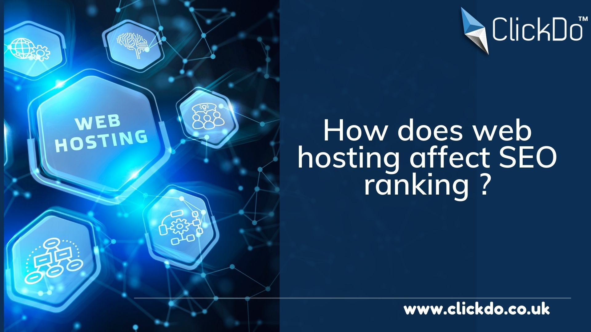 How does web hosting affect SEO ranking