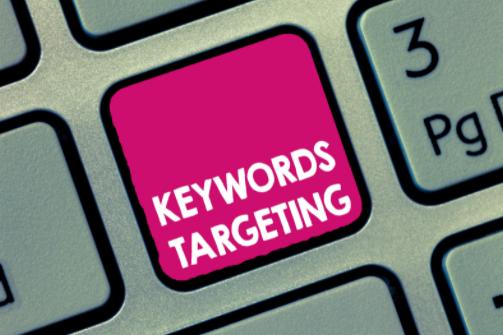 Using unlocalized target keywords