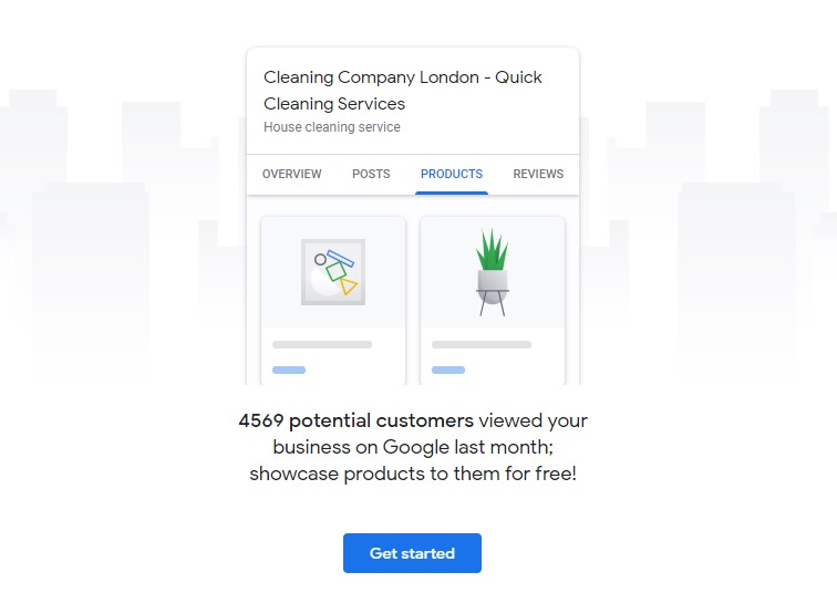 Get started with product listing
