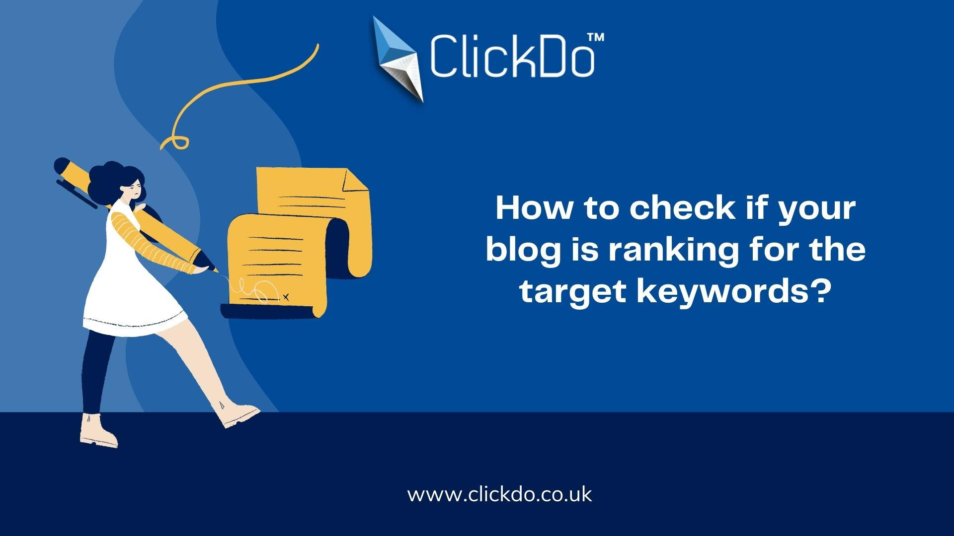 How to check if your blog is ranking for the target keywords