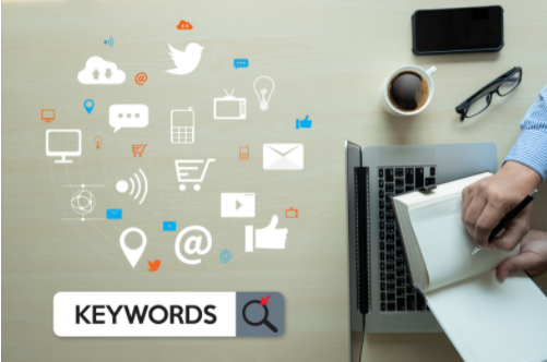 use of keywords in Blogs