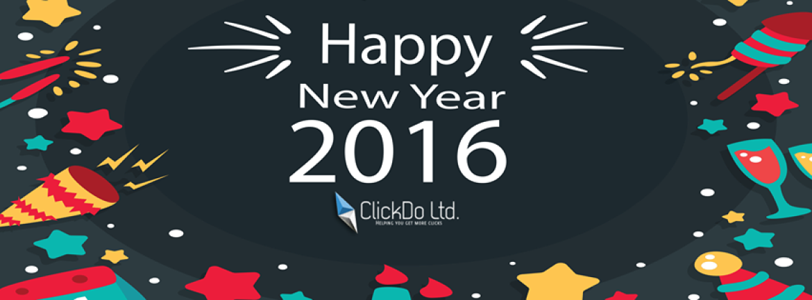 Best Wishes in 2016 from the ClickDo team